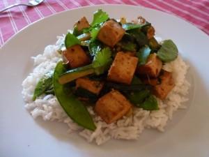 sauté de légumes (stir fry)