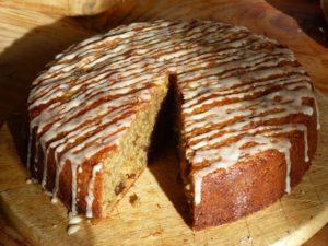 gâteau de poire de terre